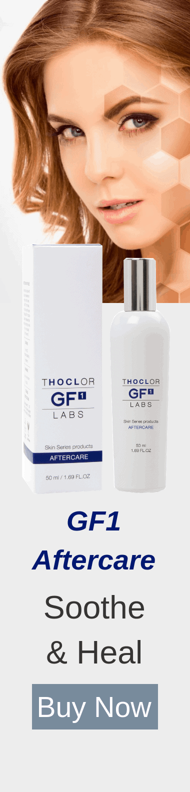 Recover rapidly from aesthetic treatments with Thoclor GF1