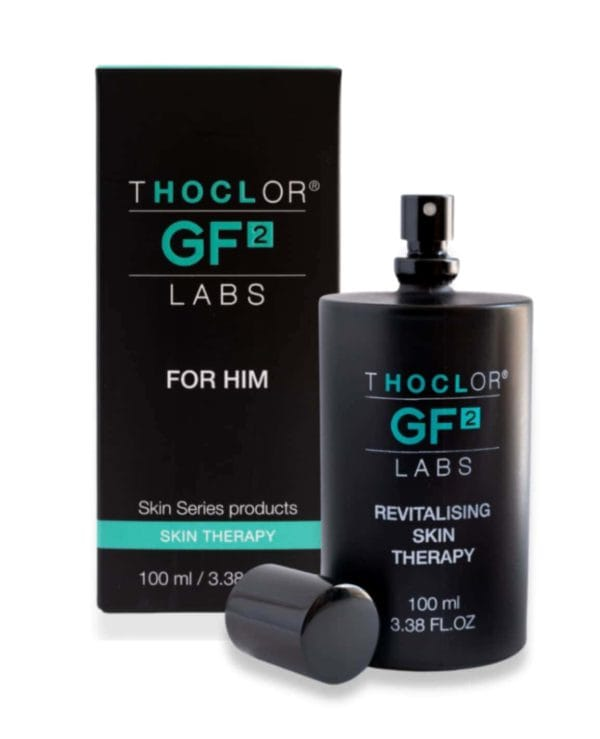 GF2 Revitalising Skin Therapy is simple easy skincare for men Thoclor Labs